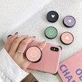 Симпатичный складной держатель со смайликом для iPhone 12, Samsung, Xiaomi, Oneplus, LG, Телефонная розетка Griptok, корейский милый кронштейн