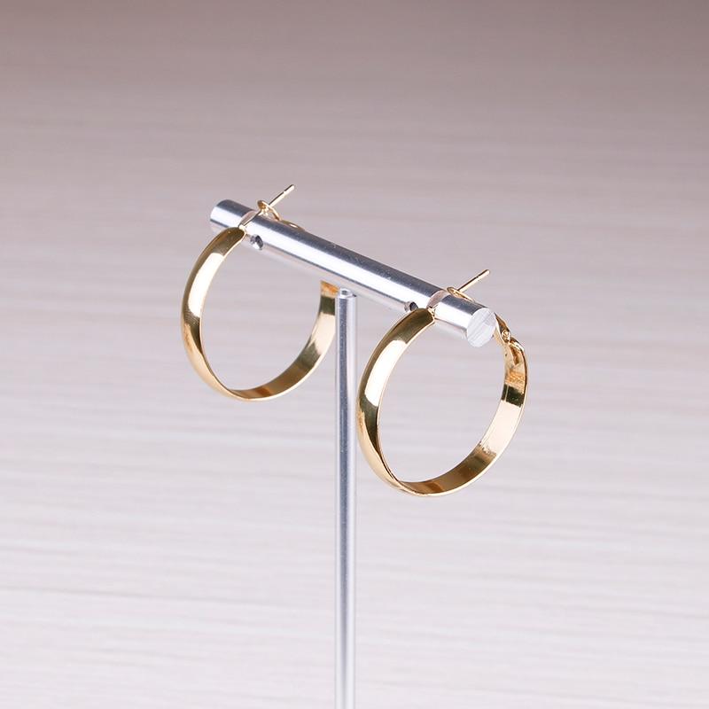 SMALL hoop earring (2)
