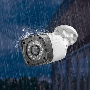 Image 2 - 4 قطعة 4MP 4CH AHD DVR كاميرا تلفزيونات الدوائر المغلقة نظام الأمن عدة في الهواء الطلق كاميرا نظام مراقبة بالفيديو للرؤية الليلية P2P HDMI 1520P