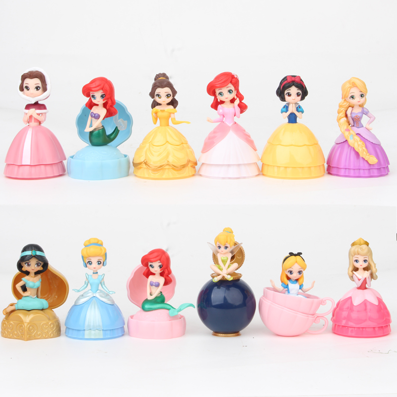 5 Inch Surprises Princess Toy LOL Baby Dolls In Ball PVC Action Figures LOL Ball Toy Buy 3 Pcs Send 4 Pcs