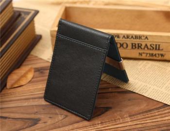 Etui na karty kredytowe mężczyźni i kobiety etui na karty kredytowe skórzany portfel na karty bankowe etui na karty posiadacz karty ochrona torebka dla kobiet # LR2 tanie i dobre opinie ISHOWTIENDA Krótki Poliester 11cm Polyester Stałe Biznes Short Wallets 0 9m 7 8cm Nie zamek Sprzęgło portfele NONE carteira