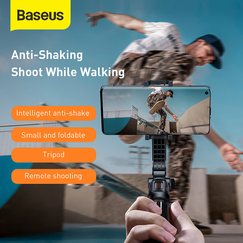 Baseus Selfie Stick Foldable Mini Selfie Tripod Expandable Monopod For Xiaomi Huawei Selfie tripod For Smart Phone iOS Android