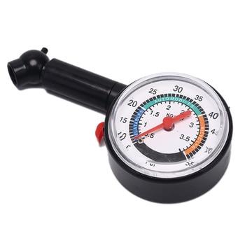 Car Motorcycle 0-50 psi Dial Wheel Tire Tyre Gauge Meter Pressure Measure Tester For auto motor tire pressure guage digital car bike truck auto air psi meter tester tyre gauge 87he