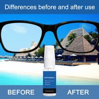Car Window Helmet Lens Glasses Glass Long Lasting Defogger Curing Agent Cleaning Agent Car Wash 20ml Anti-Fog Spray 1
