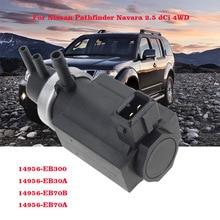 New OEM 14956-EB70B 14956EB70B Vacuum Turbo Boost Pressure Converter Valve For Nissan Pathfinder R51 Navara D40 Cabstar 2.5dCi