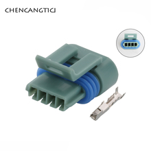 5 Sets 4 Pin Way Auto Mass Air Flow Sensor Plug Delphi Metripack Waterproof Female Connector For Great Wall Dongfeng 12162833