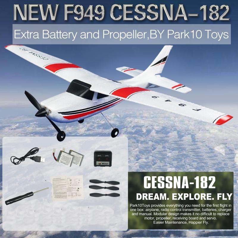 WLtoys F949 2,4G 3Ch RC самолет с неподвижным крылом уличные игрушки Дрон RTF обновленная версия цифровой серводвигатель с гироскопом