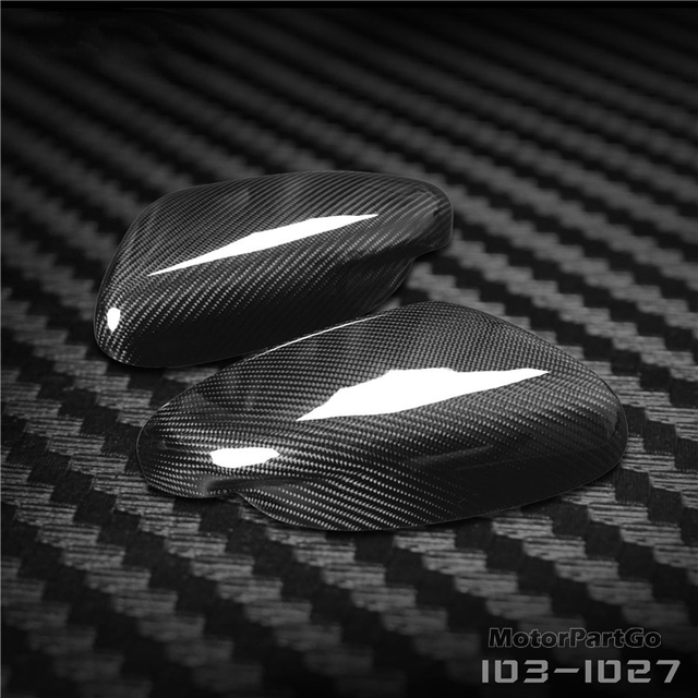 Real Crabon Fiber Mirror Cover Exchange original 1 pair for Kia K3 with turn signal 2014-2017 T250M 3