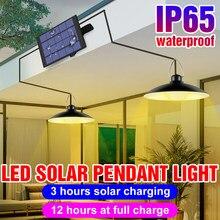 Plafonnier LED Portable à énergie solaire lumière LED, éclairage d'urgence, idéal pour le jardin ou le Camping, 15/20W, LED étanche