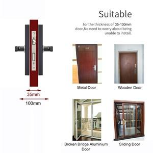 Image 5 - RAYKUBE Wifi elektroniczny zamek do drzwi z aplikacją Tuya zdalnie/biometryczny odcisk palca/karta inteligentna/hasło/klucz odblokuj FG5 Plus