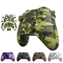 Für Xbox One Schlank Fall Zubehör Mod Kit Ersatz Full Set Abdeckung Gehäuse