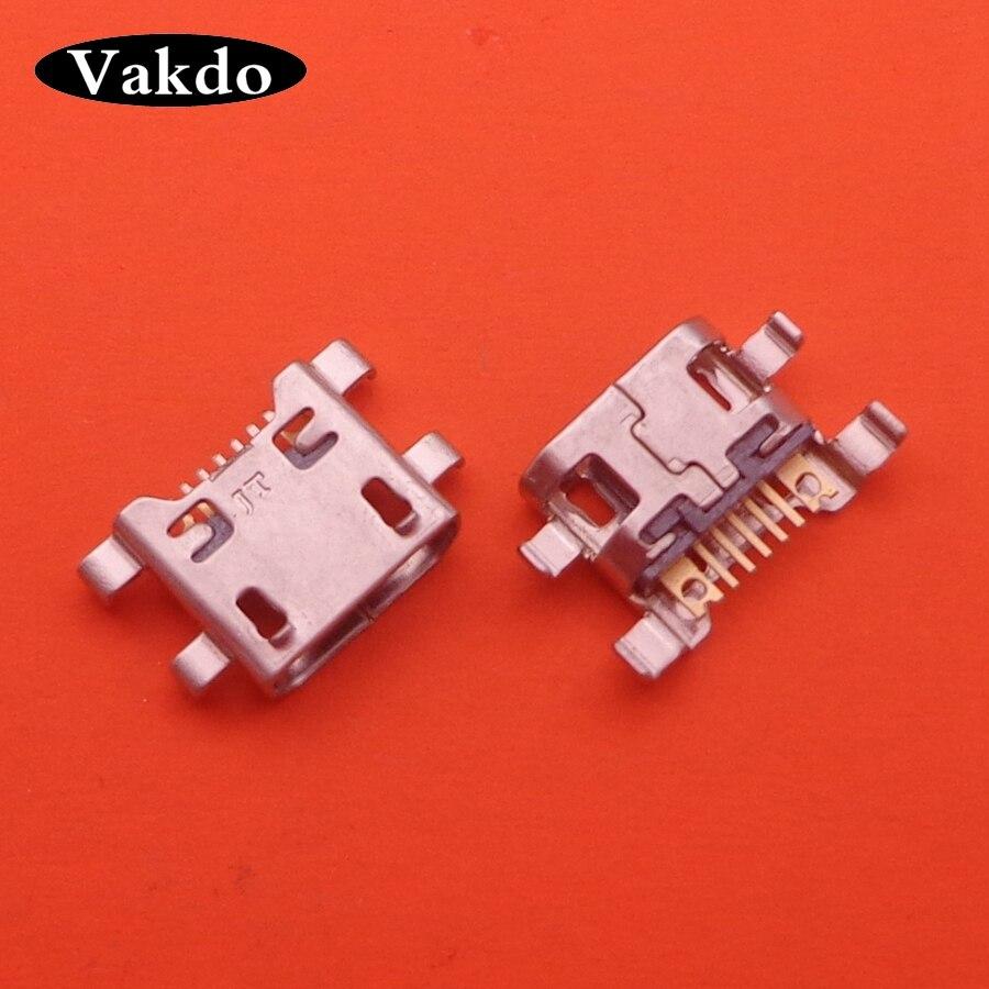 50pcs/lot For LG K10 K420 K428 5 PIN Micro Mini USB Charger Charging Port Jack Socket Connector Dock Plug Repair Part 5pin Parts