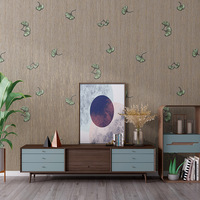 Modern Gingko Leaves 3D Wall Papers Home Decor Waterproof Country Wall Mural for TV Sofa Background Room Walls Contact Paper