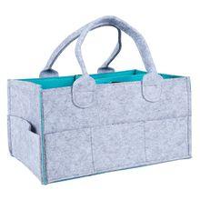 Organizador de pañales para bebés, contenedor de almacenamiento portátil para pañales para niños, bolsa de toallitas para bebés, compartimentos cambiables, lo mejor para el bebé