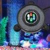 Akwarium udekoruj światła LED RGB wodoodporna do zanurzenia w akwarium kurtyna powietrzna lampa z efektem bąbelków kamienna lampa dyskowa Bubbler EU/US/UK wtyczka