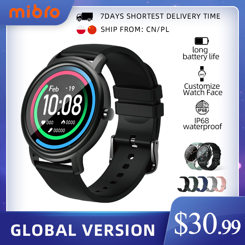 Mibro Air Smart Horloge Mannen Vrouwen IP68 Waterdichte Bluetooth 5 Sleep Monitor Fitness Hartslag Tracker Smartwatch Android Ios 1
