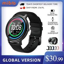 Mibro-reloj inteligente resistente al agua para hombre y mujer SmartWatch deportivo con control del ritmo cardíaco, Bluetooth 5, resistente al agua IP68 para Android e IOS