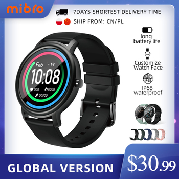 Mibro Air Smart Watch Men Women IP68 Waterproof Bluetooth 5 Sleep Monitor Fitness Heart Rate Tracker SmartWatch Android  IOS