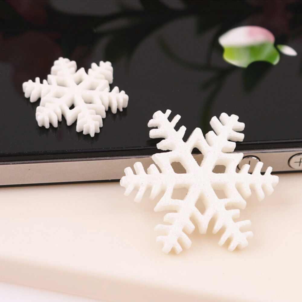Bích Nhựa Phẳng Lưng Thủ Công Mini Xmas Trang Trí Đồ Tiếp Tế Năm Mới Quà Tặng Giá 30 Chiếc Chúc Giáng Sinh Đồ Trang Trí Bán Trắng tuyết