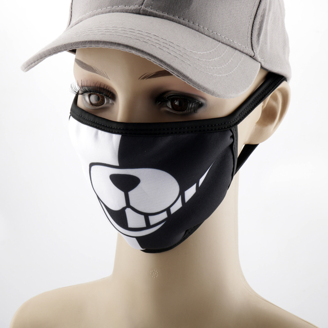 Anime Printed Mask Naruto/Tokyo Ghoul/Attack on Titan Mask Reusable Face Shield Breathable mask 3