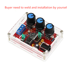 Function Signal Generator DIY Kit Sine/Triangle/Square Output 1Hz-1MHz Generator Adjustable Frequency Amplitude XR2206 004