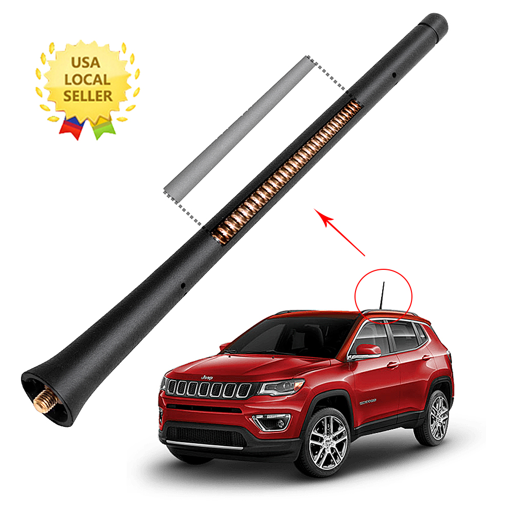 7 Inch Antenna Mast Fit 2018-2019 JEEP CHEROKEE Upgrade copper perfect fit