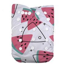 LilBit Baby дизайн с принтом многоразовый тканевый подгузник