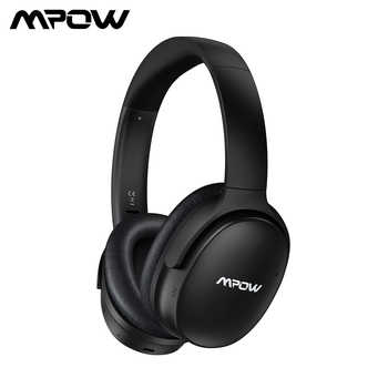 Mpow H10 Active Noise Cancelling Bluetooth Headphone HiFi Stereo ANC Wireless Wired Foldable Headset For PC Tablet PK Mpow H5 - DISCOUNT ITEM  37% OFF All Category