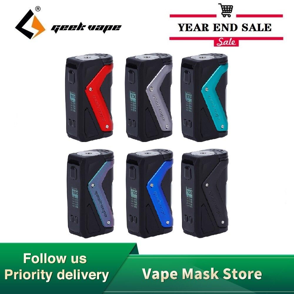 Hot Sale Original 100W GeekVape Aegis Squonker TC MOD With Max 100W Output & 10ml Bottle E-cig Vape Box Mod VS Aegis Solo Mod