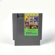 KY Technologie N8 Plus 1000 in 1 Ultimative N8 Remix Spiel karte OS-V 1,23 für 72 pins 8 bit Spielkonsole Spiel Patrone