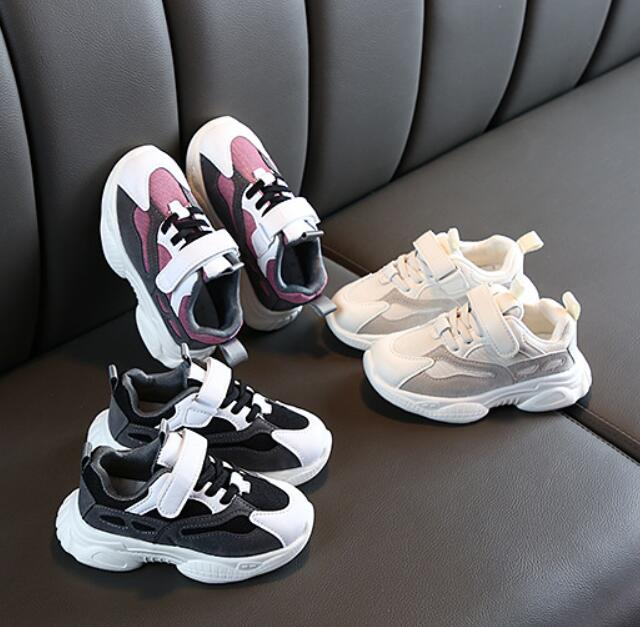 CYSINCOS Children Shoes Boys Sneakers Girls Sport Leisure Child Trainers Casual Breathable Kids Boys Running Basketball Shoes