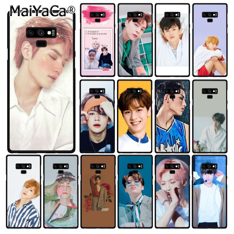 MaiYaCa <font><b>Korean</b></font> handsome boy NCT Phone <font><b>Case</b></font> For <font><b>Samsung</b></font> Galaxy A50 A70 A20 A30 Note9 8 Note7 Note10 Pro image