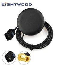 Eightwood 2320-2345 МГц Автомобильная DAB антенна DAB цифровая радио антенна Аудио антенна Fakra A SMB гнездовой разъем 3 м кабельный клей