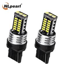 NLpearl 2X Signal Lamp T20 7440 Led W21W Wy21W 7443 W21/5W Led 4014SMD 3157 led P27/7W T20 3156 P27W Turn Signal Brake Light 12V