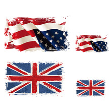 Flag-Patches Thermal-Bags Applique for Iron Stickers Diy Washable Easy-Use British NEW