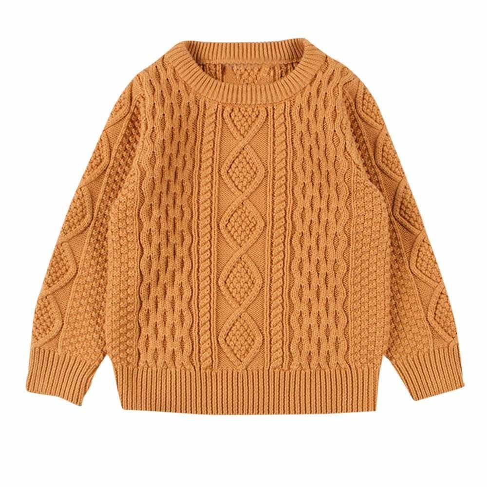 เด็กทารกเด็กผู้หญิงถักเสื้อกันหนาวเสื้อกันหนาว Solid เย็บเสื้อชุดเสื้อผ้าลวดลายเสื้อกันหนาวน่ารักเสื้อสีชมพูสำหรับทารก