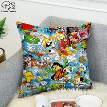 90's classic cartoon Pokemon 3D printed Pillow Case Polyester Decorative Pillowcases Throw Pillow Cover marilyn monroe pillow case polyester decorative pillowcases throw pillow cover style 9