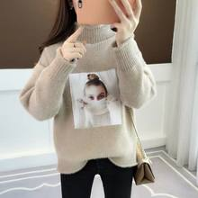 Women Sweaters And Pullovers 2019 Autumn Winter Long Sleeve casual style Knitted Warm Loose Sweater Female Jumper Ladies(China)