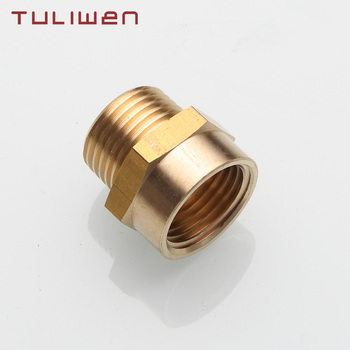 """1/2"""" G Thread (BSP) Female to 1/2"""" NPT Male Connector BSP to NPT Adapter 1/2 Inch Industrial Metal Brass G Thread to Fittings цена 2017"""