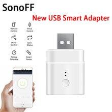 1/2/3 шт мини usb адаптер sonoff 5 в wifi питания умный дом