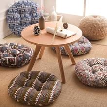 Cojín Vintage interior/exterior jardín Patio hogar Cocina Oficina sofá silla asiento cojín redondo suave almohadilla para adultos niños #45