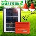 Солнечная система 3 7 V 4400mAh батарея USB переносная аварийная лампа солнечная панель для кемпинга лампа