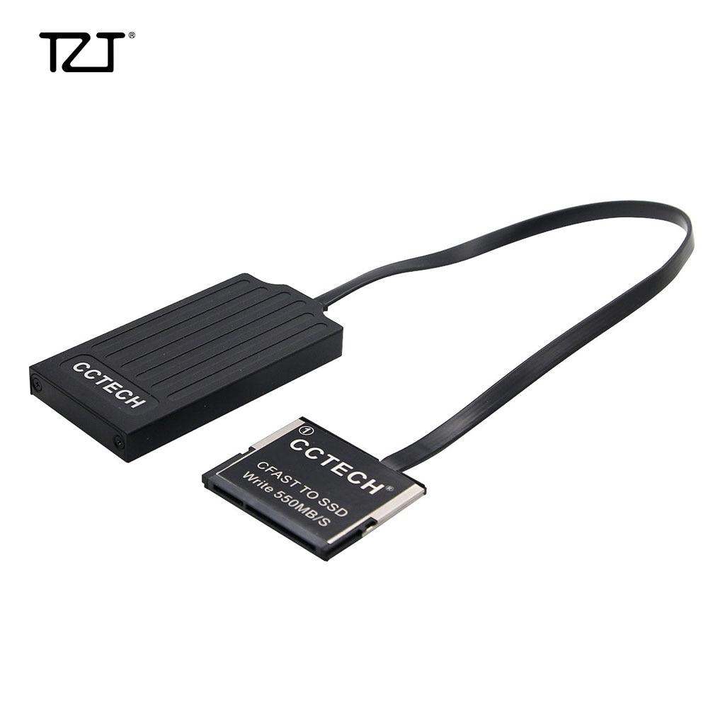 TZT CFAST To SSD MSATA Card Adapter Converter For CANON URSA Mini 1DX II XC10 Z CAM E2 4K