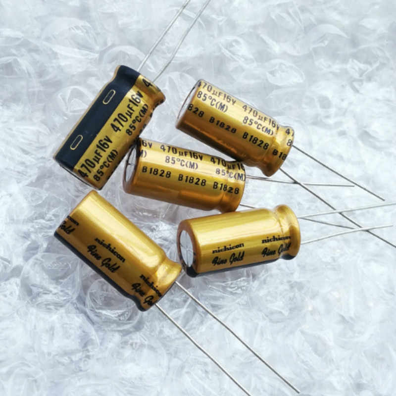 4 PCS Nichicon MUSE FG Fine Gold ufg0j102mpm 1000uf 6,3v 10x20mm rm5 #bp