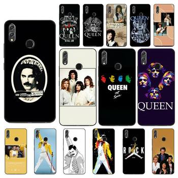 YNDFCNB Freddie Mercury Queen Band Phone Case For Huawei Honor 8X 8A 9 10 20 Lite 30Pro 7C 7A 10i 20i image