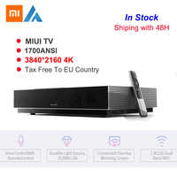 Original Xiaomi Fengmi L176FCN láser TV 4K cine 3840*2160 HD 2GB + 64GB MIUI TV 3D 1700ANSI Proyector láser