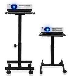 Projektor/głośnik stojak wózek z tacy i 360 stopni uniwersalny koła TC90