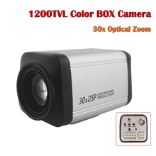 NEOCoolcam 1200TVL Color Box Analog Security Camera Auto Focus 30X Optical Zoom