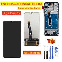 "6,21 ""для Huawei Honor 10 Lite HRY LX1 HRY LX2 HRY LX1T ЖК дисплей + цифровой преобразователь сенсорного экрана в сборе с рамкой для Honor 10"