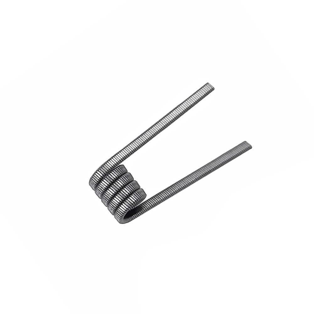 10 قطعة/صندوق Ni80 لفائف SS316L الغريبة تنصهر كلابتون أسلاك التسخين للسجائر الإلكترونية السائل القطن RDA خزان RTA قلم تدخين